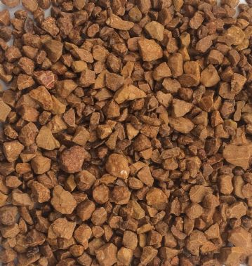 Decorative COLOURED Stones Pebbles Gravels SMALL - BROWN